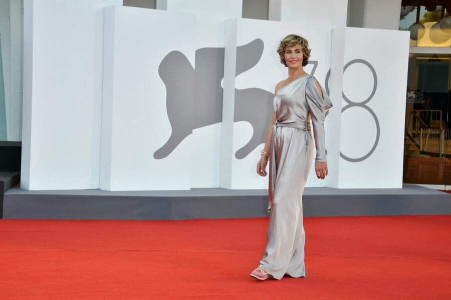 Cécile de France était présente à la première du film Illusions perdues.
