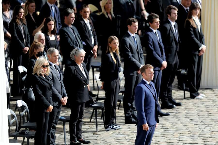 L'hommage national à Jean-Paul Belmondo à l'Hôtel des Invalides à Paris, France, le 9 septembre 2021.