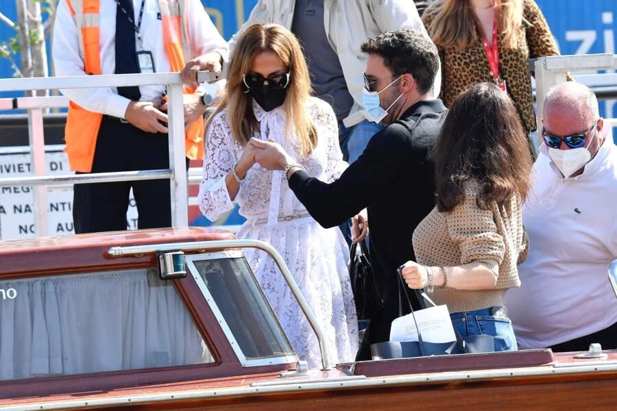 Jennifer Lopez et Ben Affleck, chic et élégant en amoureux à Venise