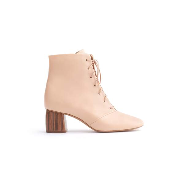 Chic bootie in nappa leather, forte_forte, 475€