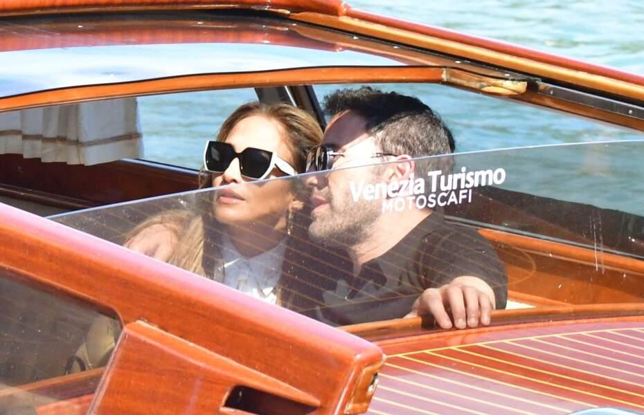 Jennifer Lopez et Ben Affleck en amoureux à Venise