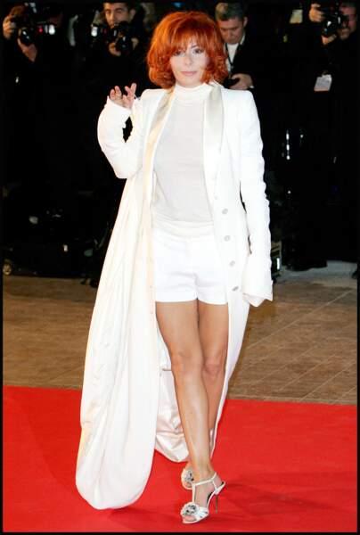 Mylène Farmer sur le tapis rouge des NRJ Music Awards en 2009