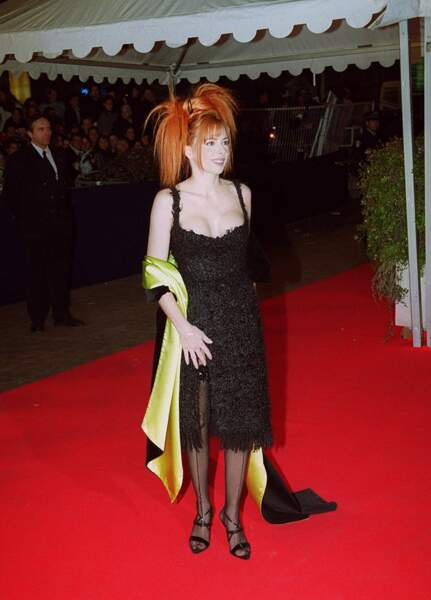 Mylène Farmer aux NRJ Music Awards en 2000