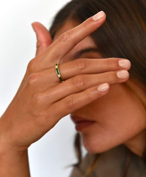 Alliance Rayon malachite et diamants, Viltier, prix sur demande.
