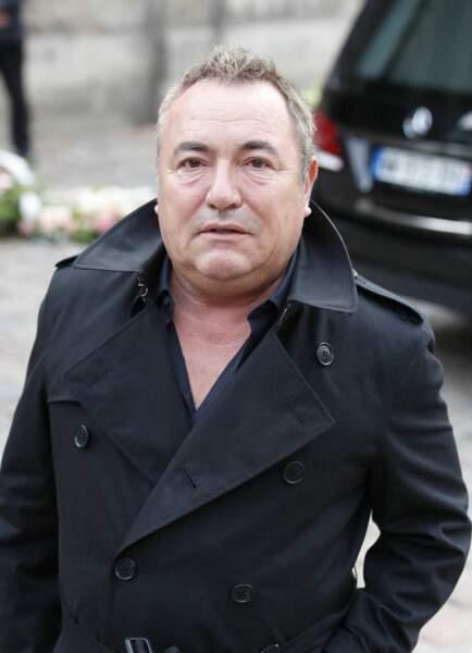 Fabien Onteniente à son arrivée aux obsèques de Jean-Paul Belmondo, à l'église Saint-Germain-des-Prés, à Paris, le 10 septembre 2021