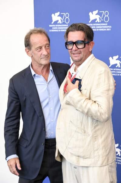 """Vincent Lindon au photocall du film """"Un autre monde"""" lors du festival international du film de Venise"""