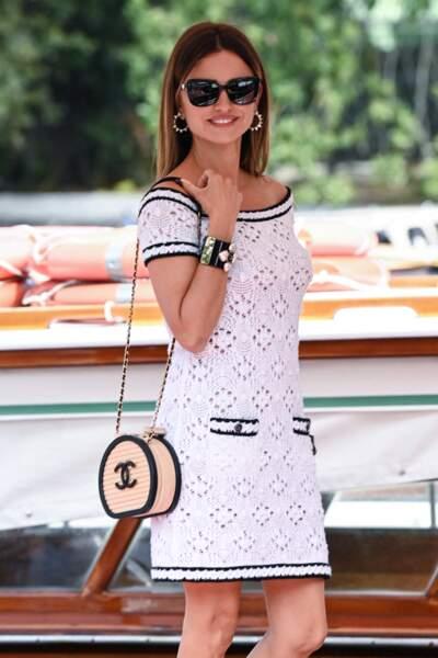 Un peu plus tôt dans la journée du 4 septembre, l'arrivée de l'actrice avait été remarquée par les photographes.