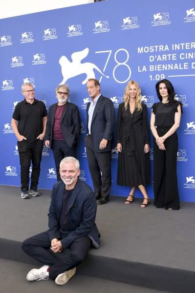 """L'équipe du film """"Un autre monde"""" présent lors du festival international du film de Venise"""