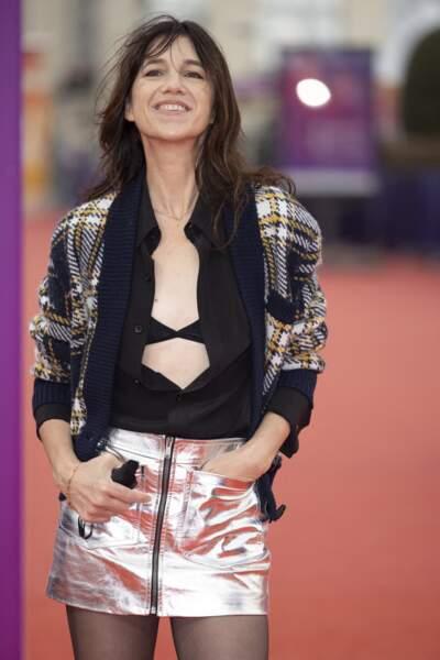 Charlotte Gainsbourg a illuminé le tapis rouge du Festival du Cinéma Américain de Deauville le 10 septembre 2021.