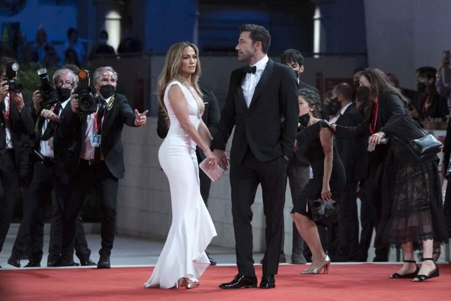 Les deux célébrités ont fait une apparition très remarquée sur le tapis rouge, ce vendredi 10 septembre