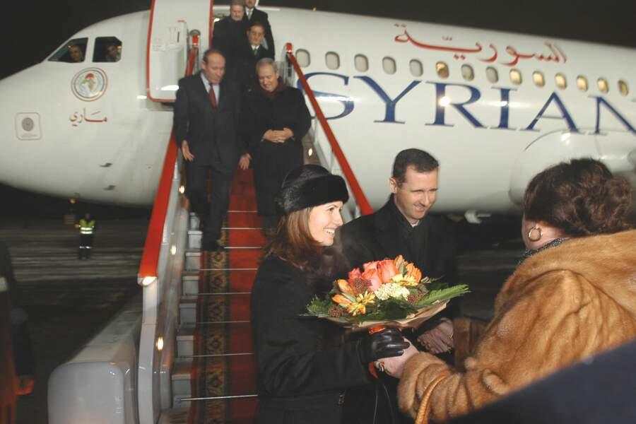Visite officielle en Russie de Bashar Al Assad et Asma