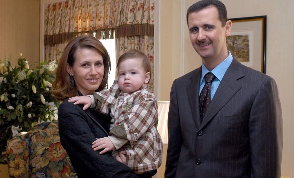 La famille de Bashar Al Assad
