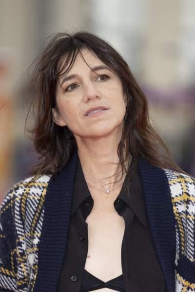 """Charlotte Gainsbourg, présidente du jury à la première du film """"Dune"""" lors de la 47éme édition du Festival du Cinéma Américain de Deauville le 10 septembre 2021."""