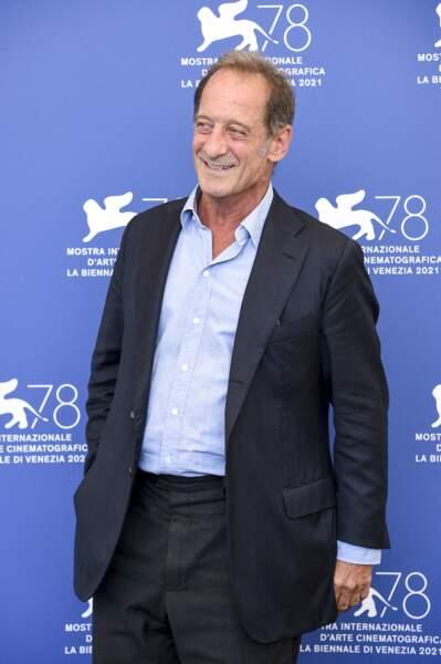 """Le festival international du film de Venise a accueilli Vincent Lindon pour la première du film """"Un autre monde"""""""
