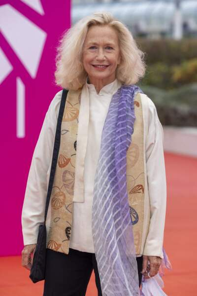 """Brigitte Fossey avant la première du film """"Dune"""" lors de la 47éme édition du Festival du Cinéma Américain de Deauville."""