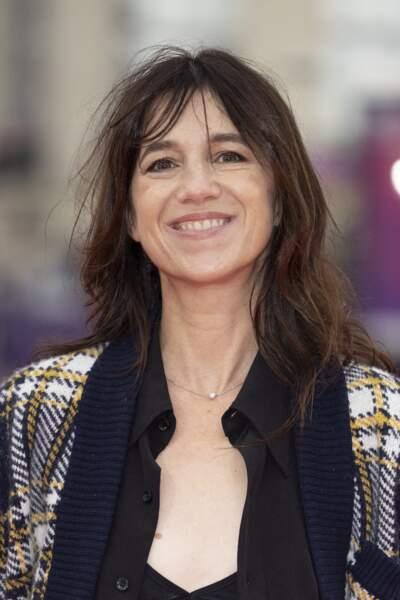 Charlotte Gainsbourg était au Festival du Cinéma Américain de Deauville le 10 septembre 2021.