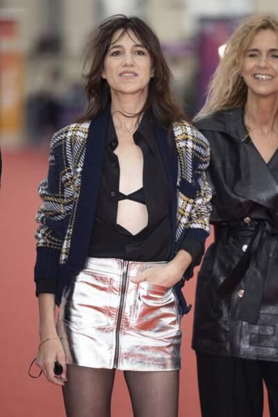 Charlotte Gainsbourg était présidente du jury lors de la 47éme édition du Festival du Cinéma Américain de Deauville.
