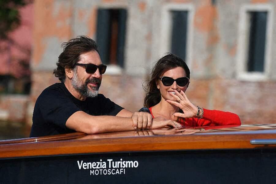 Le couple a profité de sa venue à Venise, en Italie, au festival du cinéma de La Mostra pour faire un peu de tourisme.