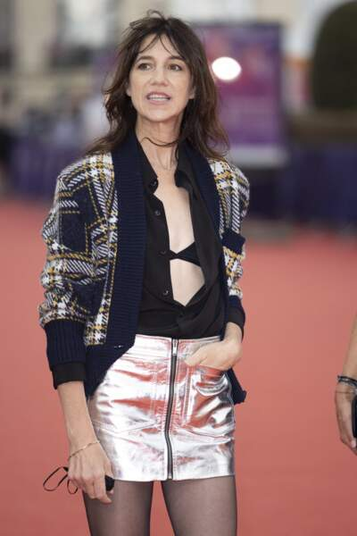 Charlotte Gainsbourg a officié en tant que présidente du jury lors de la 47éme édition du Festival de Deauville.