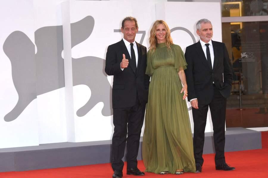 Vincent Lindon, Sandrine Kiberlain et Stéphane Brizé étaient présents lors du festival international du film de Venise