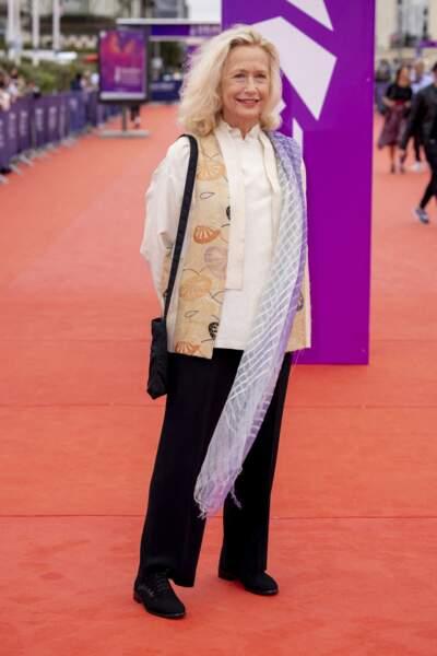 """Brigitte Fossey était présente à la première du film """"Dune"""" lors du Festival du Cinéma Américain de Deauville, le 10 septembre 2021"""