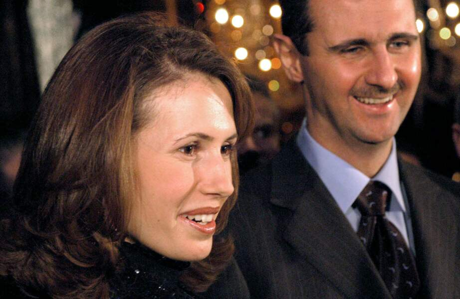Bashar Al Assad et son épouse Asma en visite officielle