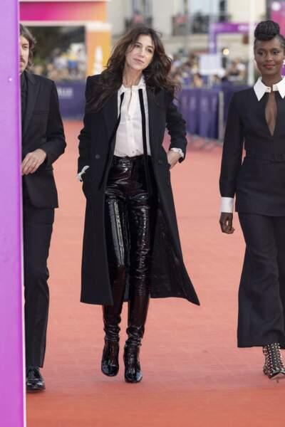 Charlotte Gainsbourg, présidente du jury du 47éme édition du Festival du Cinéma Américain de Deauville