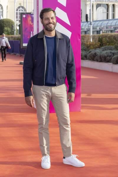 Laurent Lafitte présent au 47éme édition du Festival du Cinéma Américain de Deauville