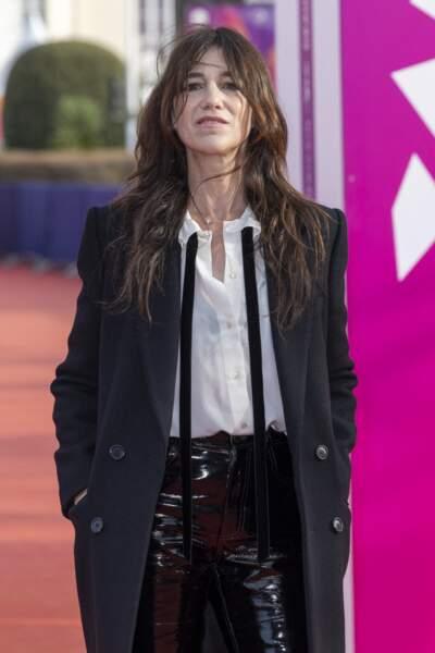 """Charlotte Gainsbourg présente lors de la Première du film """"Les choses humaines"""" à Deauville"""