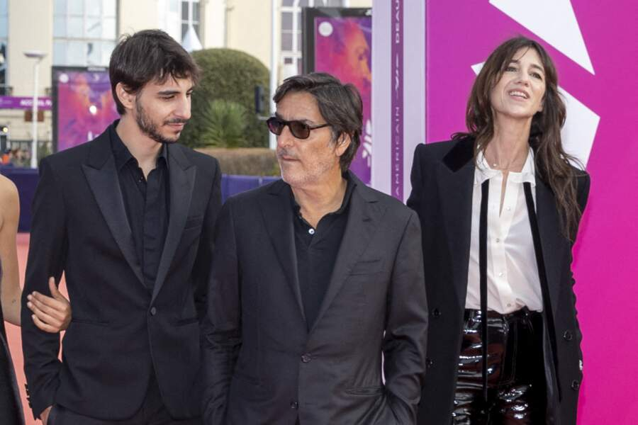 Apparition en famille pour Ben Attal, Yvan Attal et Charlotte Gainsbourg au Festival du Cinéma Américain de Deauville
