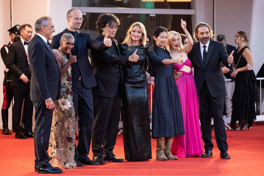 Le jury de cette 78e édition de Festival international du film de Venise, ce samedi 11 septembre