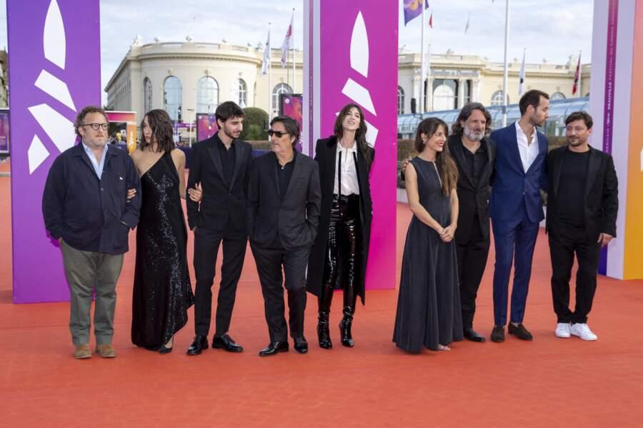 """L'équipe du film """"Les choses humaines"""" lors du Festival du Cinéma Américain de Deauville"""