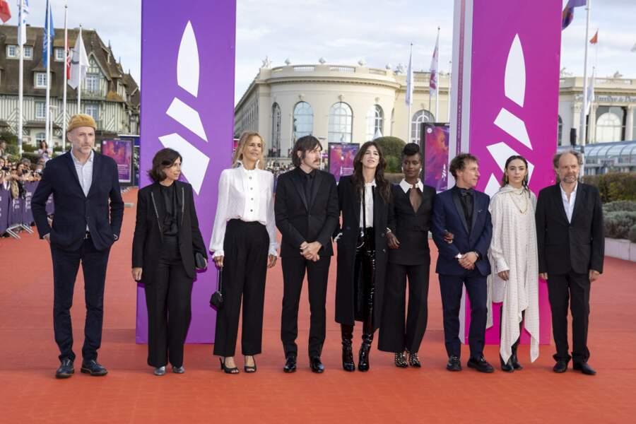 Le Jury de la 47e édition du festival du Festival du cinéma américain de Deauville