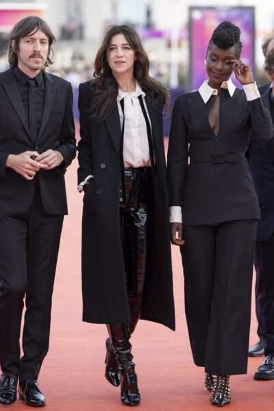 Charlotte Gainsbourg préside le jury du Festival du Cinéma Américain de Deauville