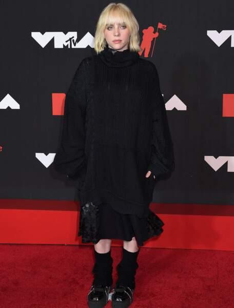Billie Eilish, gothique tout en noir