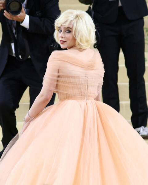 Le carré blond Marilyn de Billie Eilish