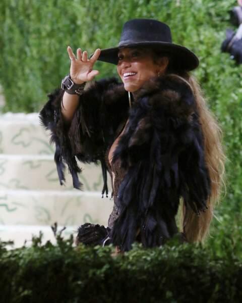 L'allure de cow boy girl de Jennifer Lopez