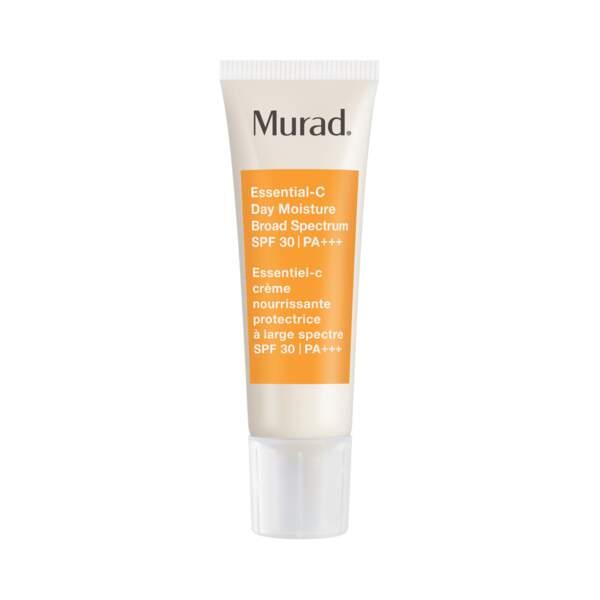 Essentiel-C crème nourrissante protectrice à large spectre SPF 30, Murad, 73 € chez Sephora