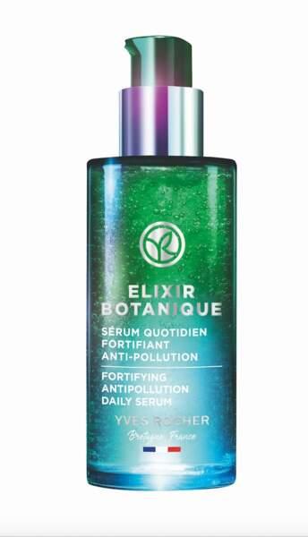 Elixir Botanique Sérum Quotidien Fortifiant Anti-pollution, Yves Rocher, 39,90 €