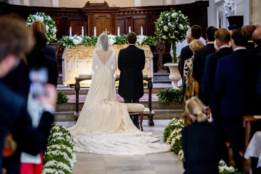 Le mariage religieux du couple a réuni trois familles régnantes.