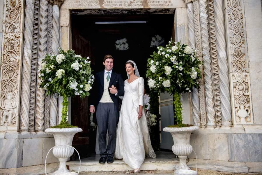 La princesse Marie-Astrid de Liechtenstein et Ralph Worthington se sont mariés en Toscane.