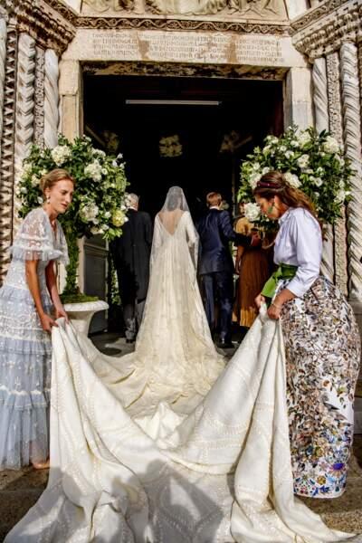 La robe de la princesse est sublime.