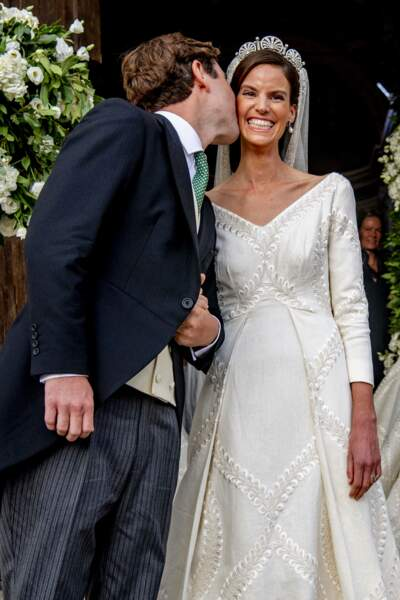 La princesse Marie-Astrid s'est mariée vingt jours après sa sœur.