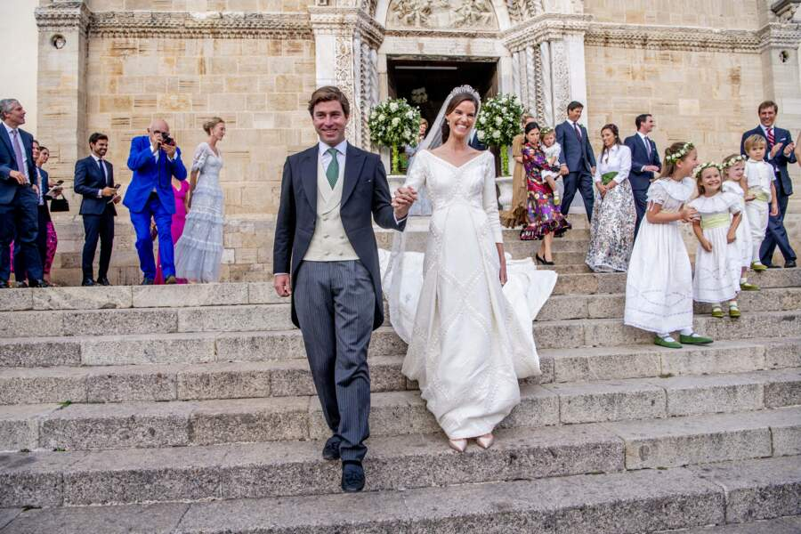 La princesse Marie-Astrid a opté pour un lieu bucolique pour son mariage.