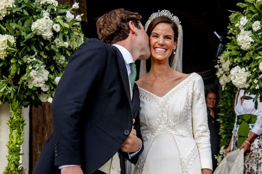 Un bisou sur pour la princesse Marie-Astrid.