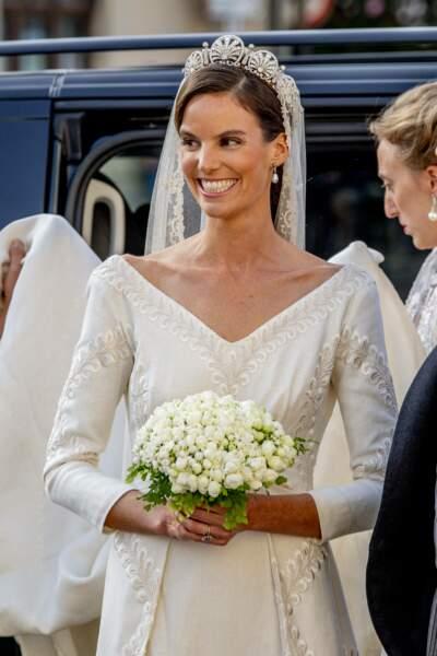La princesse Marie-Astrid de Liechtenstein et Ralph Worthington se sont mariés le 25 septembre 2021.
