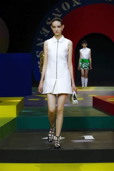 Les babies sixties de la collection Dior printemps-été 2022