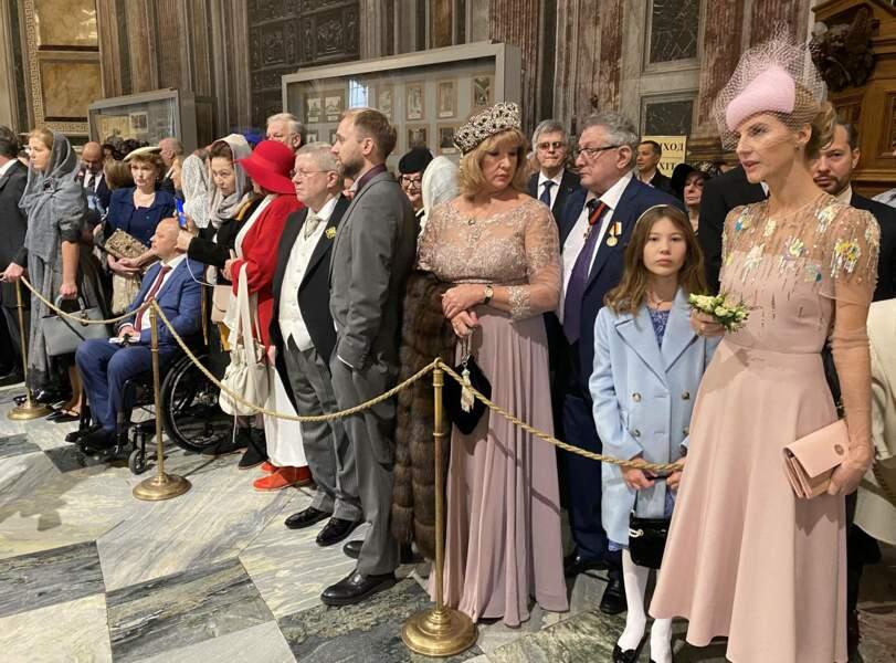 Lors du mariage du grand-duc de Russie, toute la famille royale s'était mise sur son trente-et-un pour assister à cet événement en la cathédrale Saint-Isaac, le 1er octobre 2021.