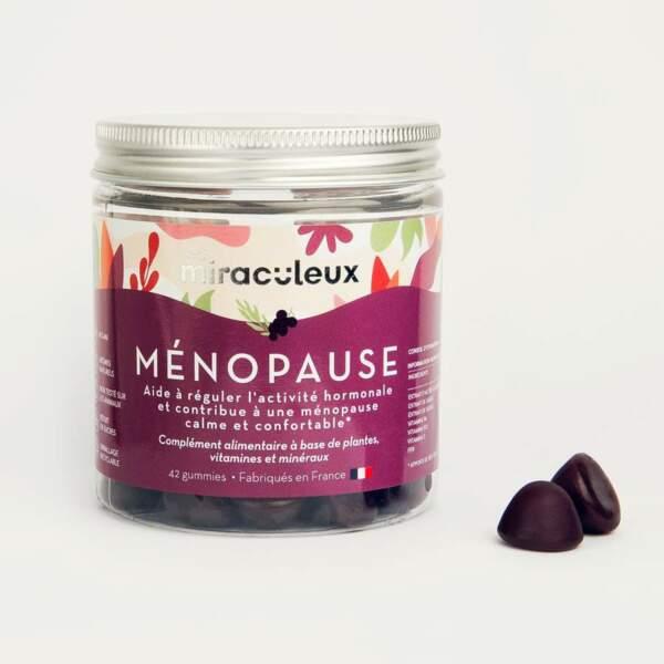 Gummies Ménopause, Les Miraculeux, 22,90€, lesmiraculeux.com