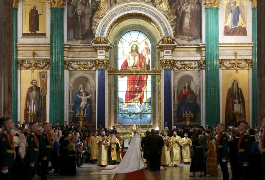 Le grand-duc de Russie George Mikhailovich de Russie et Rebecca Victoria Bettarini ont créé l'événement avec leur mariage. Cela faisait plus de cent ans qu'un mariage royal n'avait pas été célébré en la cathédrale de Saint-Isaac, à Saint-Pétersbourg, le 1er octobre 2021.